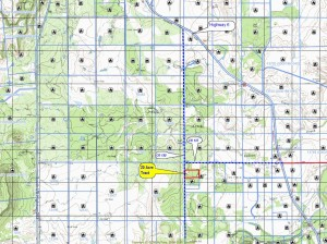 20 Acre Locator and Topo