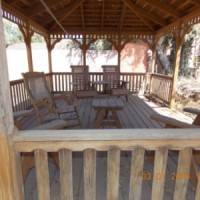 Gazebo -Has fan and plenty of seating