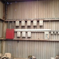 Electric Panels in Shop -Industrial Use