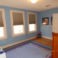 Upstairs 3rd Bedroom/Play Room -Has closet space, great natural light and own bathroom
