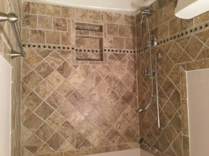 Hall Bath Tub-Shower